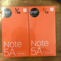 Hp Xiomi Note 5A Prime (Hp Xiaomi Mi 5 A TAM)- RAM 3/32GB -Gold & Grey