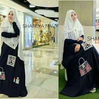 Harga gamis preium shafeya syari baju hijabers | Pembandingharga.com