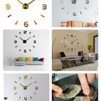 Jam Dinding Jumbo Diameter 80-130cm DIY Jumbo Wall Clock - 12s003 3378698d6d