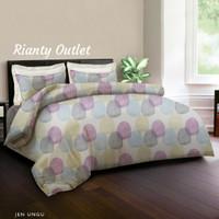 Bed Cover King Rabbit - Double 230 - Jen Ungu