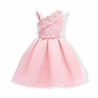 GA2538 NIANA DRESS PINK (BAJUKIDDIE) DRESS ANAK PEREMPUAN PESTA GAUN