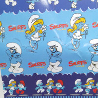 Selimut Smurf uk (160x200) lady rose collection