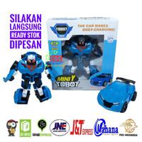 PREMIUM - Mainan Tobot Mini Y Figure Mobil Robot Bahan Tebal SNI PROMO