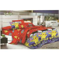 Bed Cover Set Sprei Fata Size Single Pokemon