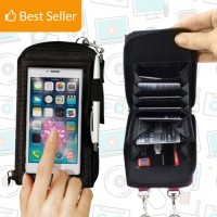 TAS DOMPET SARUNG CASING HOLDER TEMPAT HP XIAOMI SAMSUNG OPPO IPHONE