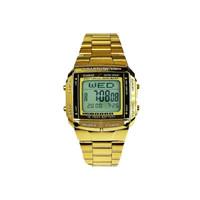 jam tangan casio unisex DB360 Gold