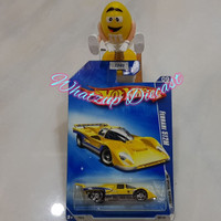 Hot Wheels Ferrari 512M (HW Special Features 09) - Yellow