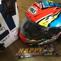 SALE!! 2nd mulus Helm Shoei X12 Daijiro Kato Red size M lengkap pinloc