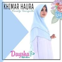 Jilbab Khimar Haura - Baby Blue Daysha Hijab Semarang Jakarta Surabaya