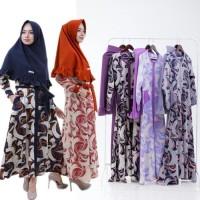 Jilbab Zahira Dress Daysha Hijab Semarang Jakarta Surabaya Grosir
