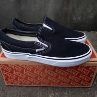 Sepatu Pria Sneakers Kets Cowok Murah Vans Slip On Classic HF