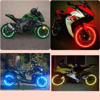 Stiker Velg Ban Roda Pelek Motor Wheels Mobil Reflective Cahaya