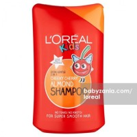 Loreal Kids 2 in 1 Shampoo Pedro's Cherry Almond 250ml MURAH