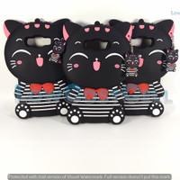 Case 4D Mimi Cats Samsung Galaxy J7 Core /Kucing/Cat Smile/case