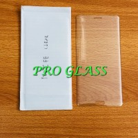 Samsung Note FE Full Cover CLEAR Magic Glass Premium Tempered Glas