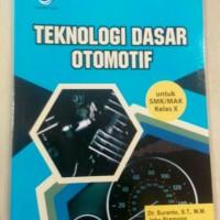 Harga teknologi dasar otomotif untuk smk mak kelas x dr suranto | WIKIPRICE INDONESIA