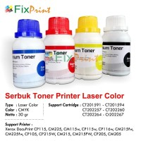 Serbuk Refill Bubuk Toner Xerox CP105 CP215W CM215 CM215FW CP205 Cyan