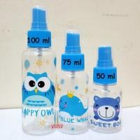TL005 Botol Semprot 100ml Spray Bottle Semprotan Parfum Travel Kit
