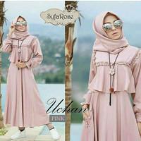 Maxi Dress Muslim / Gamis Wanita UCHAN DRESS BALOTELI BD (VAR)