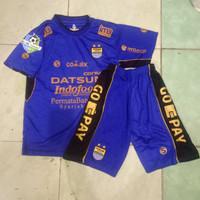 Jersey Kids Persib Home 2017/2018 Liga 1 Gojek Traveloka Gradeori Off