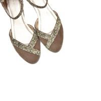 Yongki Komaladi Audrey Flat Shoes - Khaky