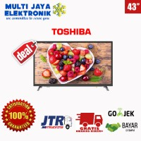 TOSHIBA 43 INCH SMART TV LED 43L5650