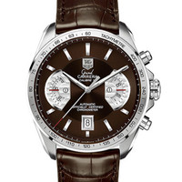 Tag Heuer Grand Carrera Calibre 17 RS2 Swiss Clone 1:1 Leather Strap