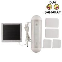 Lampu solar 5 LED tarik tenaga surya indoor outdoor putih tali kabel