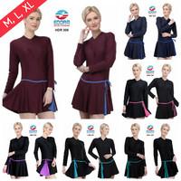 Baju Renang Perempuan kode HDR lengan panjang size M, L dan XL
