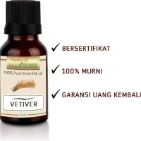 Vetiver Essential Oil 10ml Pure 100% Natural Minyak Atsiri Akar Wangi