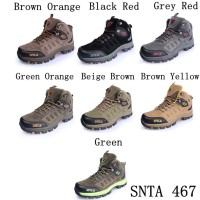 Sepatu Gunung Trekking Hiking Adventure SNTA 467 Series