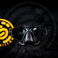 Sporasub Piranha Freediving Mask, Masker Freedive Low Volume Diving
