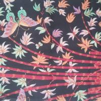 Kain Batik gambar Pohon Bambu