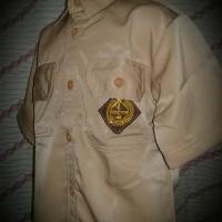 Baju Pramuka SMP SMA laki-laki Sz 7-8-9-10 tangan pendek 62k