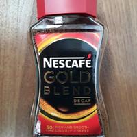 Nescafe Gold Blend Decaf 100 gram (Best Before) Kopi Rendah Kafein