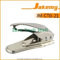 Jakemy 2 in 1 Universal Micro and Nano SIM Card Cutter - White