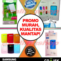Powerbank SAMSUNG CELL Original FUTURE + BELKIN fast charging 3.A Led