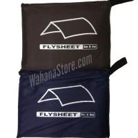 Flysheet / Plesit / Tutup Tenda Dome / Bivak Ukuran 3x4 meter