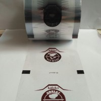 FIKA Plastik Lid Cup Sealer Sablon Custom / Desain Custom 1 roll