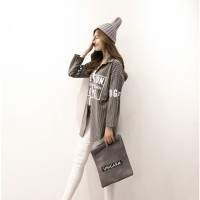 Harga baju wanita baju murah baju baseball korea wanita kemeja | Pembandingharga.com