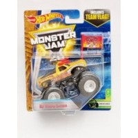 Promo!! Hot Wheels Monster Jam El Toro Loco - kuning