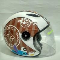 Helm Bmc Milan 03 Half Face. Barang Bagus. Standart Sni