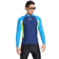 Baju Renang Rashguard Wetsuit Biru Neon