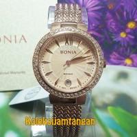 JAM TANGAN WANITA BONIA BNR118-2573S SAPHIRE ROSE GOLD ORIGINAL MURAH