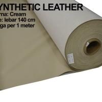 Bahan Kain Kulit Imitasi Oscar Synthetic Leather Kulit Sintetis