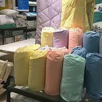 bedcover marshmallow dengan sarungnya / selimut INFORMA microfiber