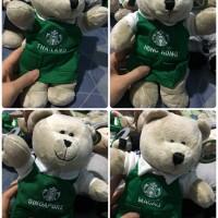 Starbucks bearista bear green apron Thailand Hongkong singapore macau