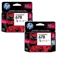 Tinta HP CZ 108AA/678 Colour