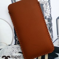 Pouch Apple Iphone 5 / 5S & 4 / 4S Sleeve Leather Case Sarung HP