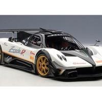 AutoArt Pagani Zonda R EVO Evolution Carbon Fiber White